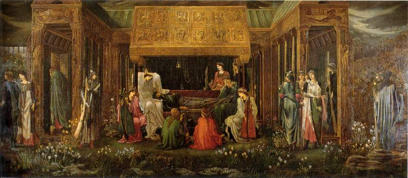 The Death of Arthur by Edward Burne-Jones.